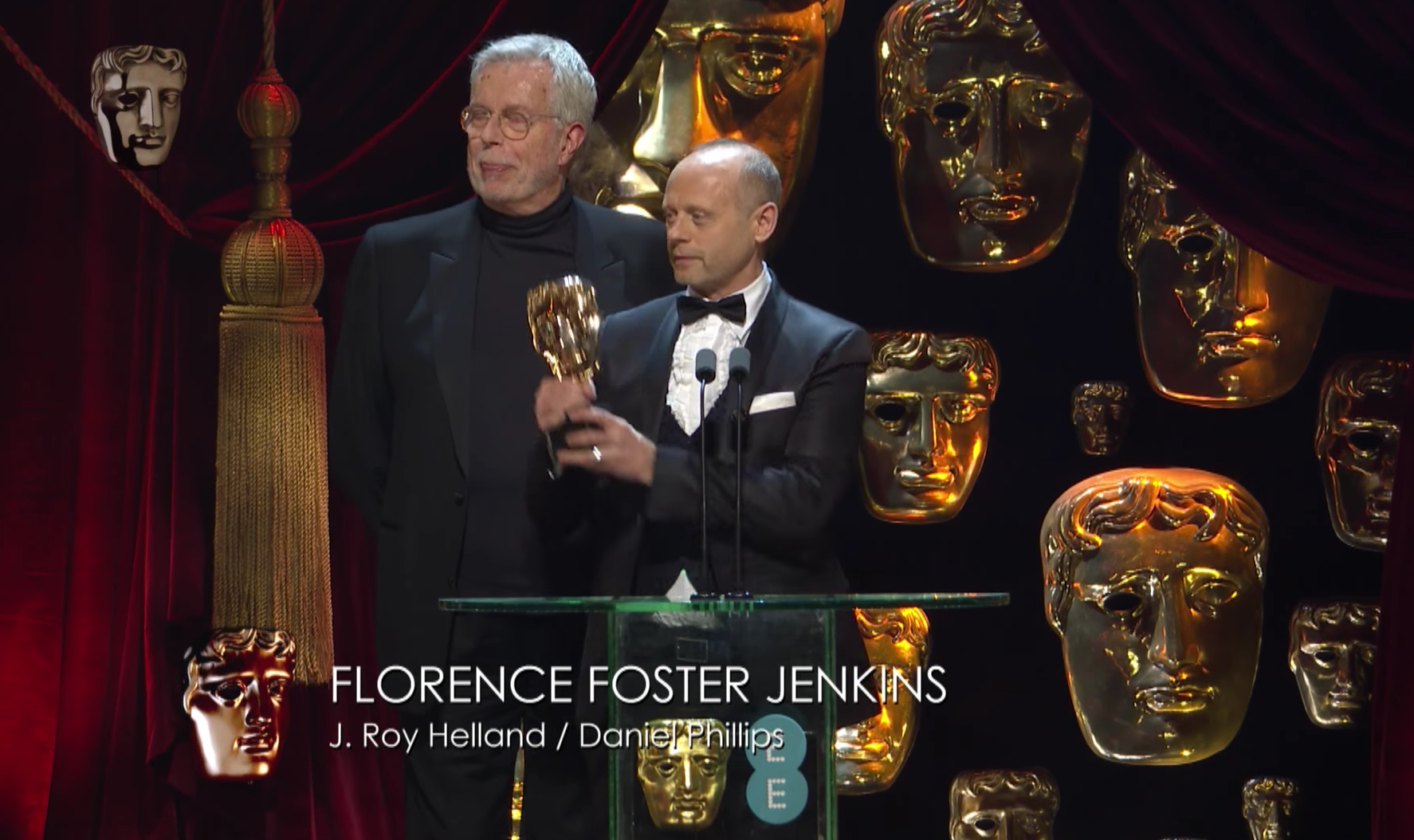 A win at the BAFTAS